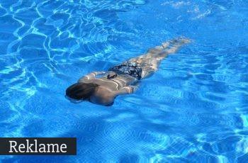 en svømmer